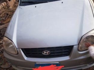 سيارة فيرنا موديل 2006 رشة برة نظافة دواخل فابريكة