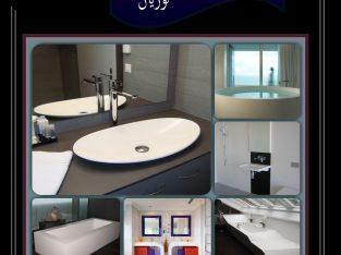 كوريان ( احواض – قرص مطابخ – وحدات حمام )