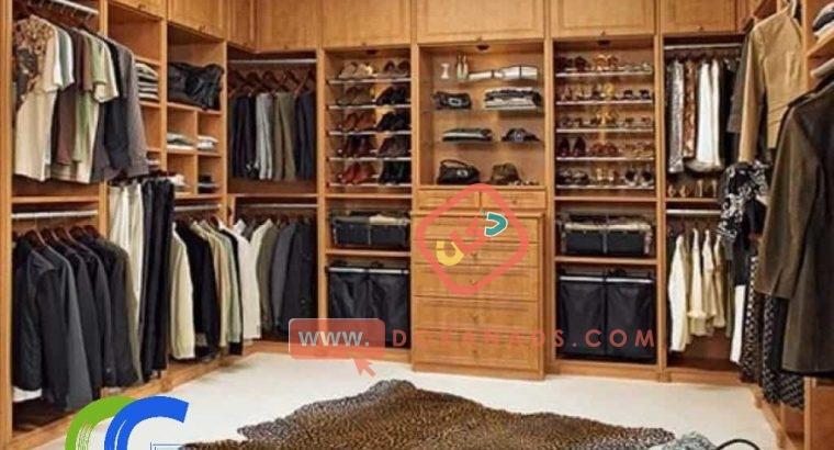 غرف ملابس حديثة – كرياتف جروب ( 01026185183)