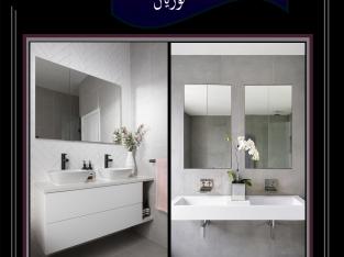 وحدة حمام بديل الرخام -كوريان – ارت فيجن 20جوزيف تيتو- النزهة الجديدة