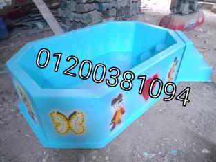العاب اطفال فيبر جلاس حمام سباحة فيبر جلاس من انتاج شركة الآمل للفايبر