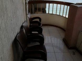 شقة للايجار مفروش -ميامى -الدور٧