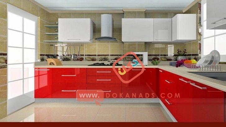 اسعار مطابخ اكريليك/ تشكيلة متنوعة من مطابخ خشب 01210044703