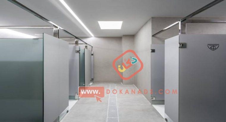 compact_corian_فواصل وقواطيع حمامات