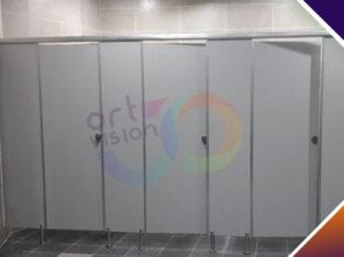 قواطيع حمامات hpl – فواصل مباول