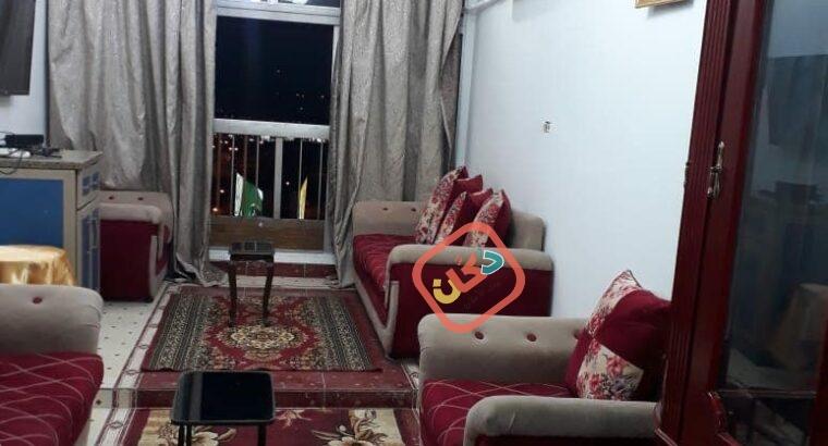 شقة مفروشة للايجار سوبر لوكس مكيفة بالكامل بطريق النصر الرئيسى