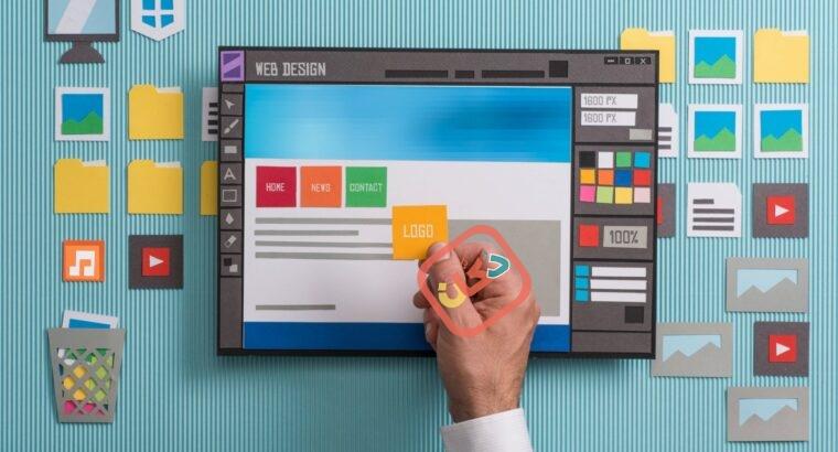 تصميم مواقع احترافية و متاجر الكترونية