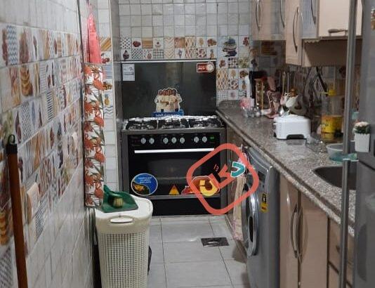 شقة فاخرة بالدور الاول بمساحة 120 م علي دوران السيوف شماعة