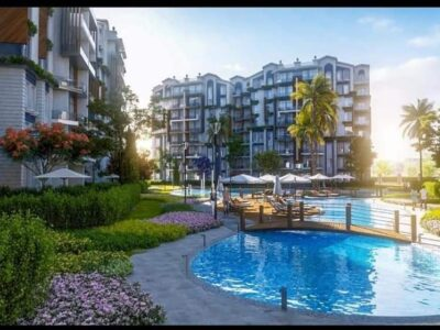 شقة 200 م للبيع فى كموند فلوريا العاصمة الادارية الجديدة